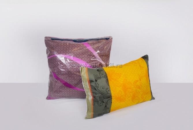 Подушка фиберные шары , полиэстер 70x70