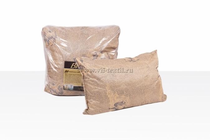 Подушка  верблюжье волокно 2х камерная, полиэстер 50x70