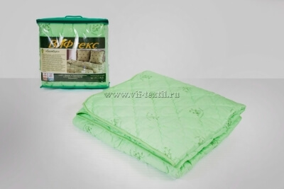 Одеяло бамбук 1.5сп, 300 г/м², полиэстер