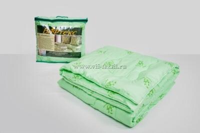 Одеяло бамбук 1.5сп Зима, 400 г/м², полиэстер