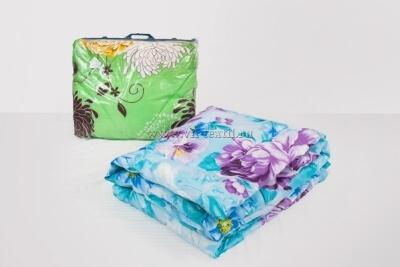 Одеяло  фибер 1.5сп (эконом) Зима, полиэстер, 200 г/м²