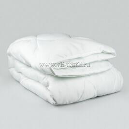 """Одеяло холлофайбер-пласт 1.5сп, 200 г/м², сатин """"Элит"""" ОПХ-7"""