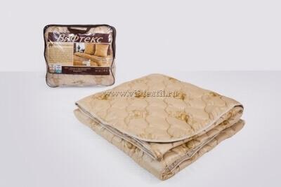 Одеяло верблюжья шерсть 2сп, 300 г/м², поплекс