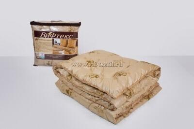 Одеяло верблюжья шерсть 2сп Зима, 400 г/м², поплекс