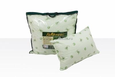 Подушка  бамбуковое волокно 2х камерная, поплин 50х70