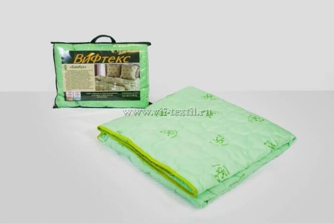 Одеяло бамбук 1.5сп, 150 г/м², полиэстер