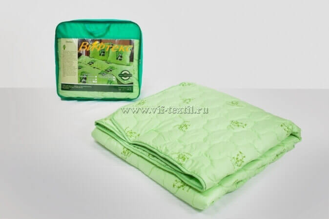 Одеяло бамбук евро, 300 г/м², тик