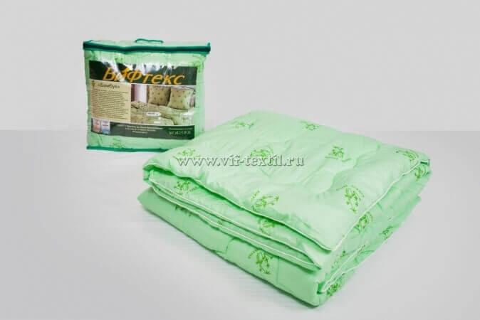 Одеяло бамбук евро Зима, 400 г/м², полиэстер