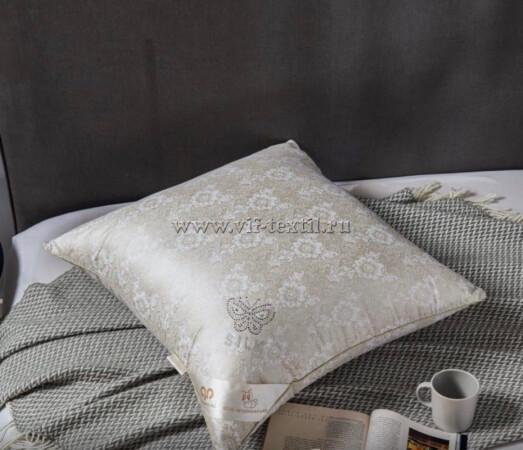 """Подушка"""" Silk pillow"""" 2х камерная (на молнии)"""