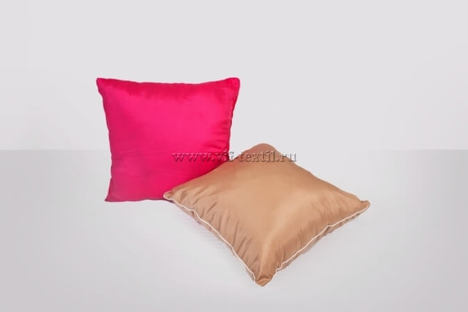 Подушка тканевая, полиэстер цветной 48x48