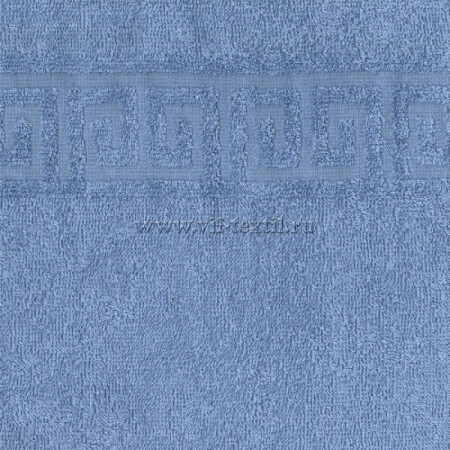 Полотенце махровое голубой (jumjume) Туркменистан H74302