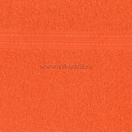 "Полотенце махровое оранжевый Туркменистан ""Байрамали"""