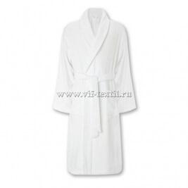 Махровый халат (женский) цвет белый