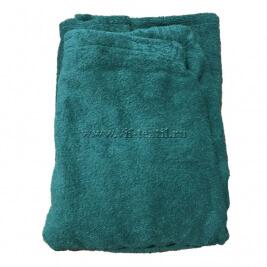 Набор махровый для сауны (мужской) темно-зеленый