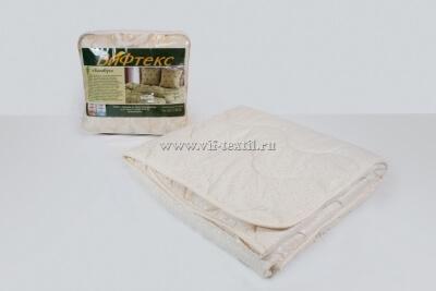 Одеяло бамбук 1.5сп, 300 г/м², поплекс бежевый