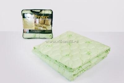 Одеяло бамбук 300 г/м², поплекс зеленая ветка
