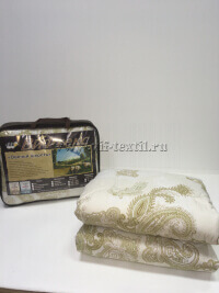 """Одеяло """"Овечья шерсть"""", глос-сатин, 300 г/м², облегченное"""