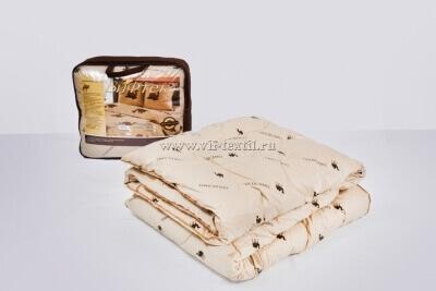 Одеяло верблюжья шерсть Зима, 400 г/м², тик