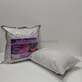 "Подушка ""Лаванда"" силиконизированное волокно,тик 2х камерная"