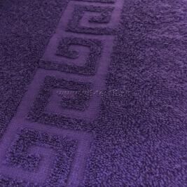 Полотенце махровое фиолетовое Узбекистан (Узтекс)