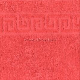 Полотенце махровое коралл (scarlet) Туркменистан 0802025