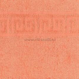 Полотенце махровое персик (peach) Туркменистан 0802040