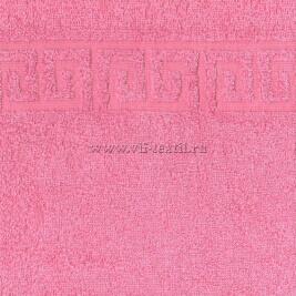 Полотенце махровое розовый (pink lady) Туркменистан 0711011