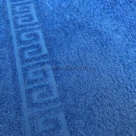 Полотенце махровое синий (palace blue) Туркменистан 0802039