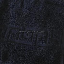 Полотенце махровое темно-синее Узбекистан (Узтекс)