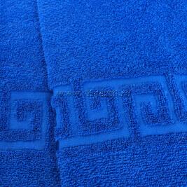 Полотенце махровое васильковое Узбекистан (Узтекс)