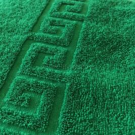 Полотенце махровое зеленое Узбекистан (Узтекс)