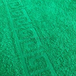 Полотенце махровое зеленый (classik green) Туркменистан 0802011
