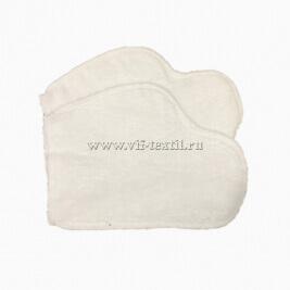 Рукавица махровая (набор 2 шт.) цвет белый