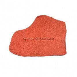 Рукавица махровая (набор 2 шт.) цвет коралл