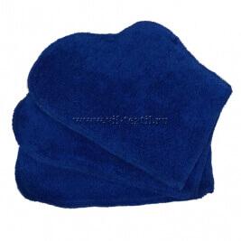 Рукавица махровая (набор 2 шт.) цвет синий